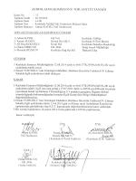 Kırıkkale Valiliği Komisyon Kararları (Ekim 2014)
