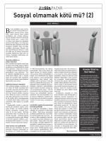 Sosyal olmamak kötü mü? (2) - Çocuk ve Aile Çalışmaları Laboratuvarı