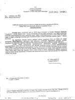EK:1 Adana İl Sağlık Müdürlüğünden gelen yazı