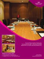 Toplantı Salonları Broşürü - Crowne Plaza İstanbul Harbiye