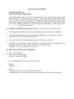 Vekaletname - Akfen Holding