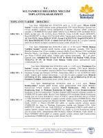 tc sultanbeyli belediye meclisi toplantı karar özeti