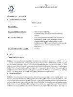 T.C. KAMU DENETÇİLİĞİ KURUMU ŞİKAYET NO :03.2013/28