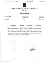 AKTS Bilgi Paketi/Ders Kataloğu Takvimi