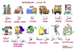 Resimli Arapça