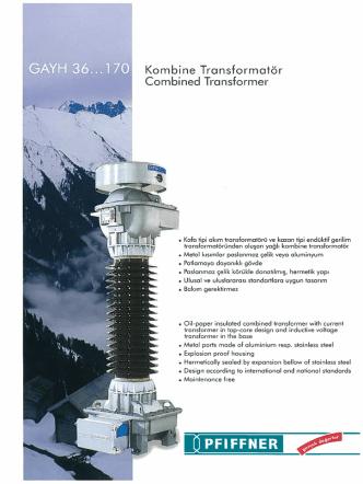 Akım-Gerilim (Combined) 36…170 kV