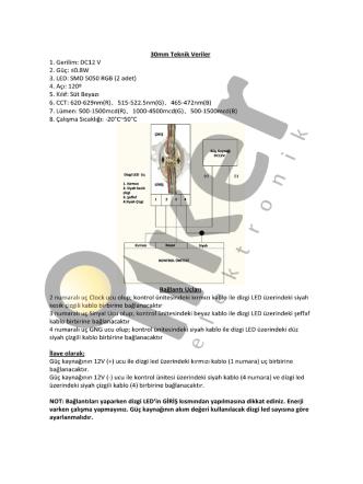 30mm Teknik Veriler