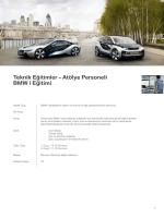 TeknikEğitimler-AtölyePersoneli BMWiEğitimi