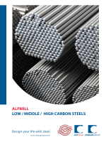 LOW / MIDDLE / HIGH CARBON STEELS ALPMILL
