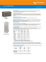 GEL and AGM Batteries (pdf, updated 2014-10-09