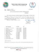 GENÇLER SAKARYA - Türkiye Masa Tenisi Federasyonu