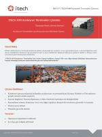 ITECH AIM Konteyner Terminalleri Çözümü