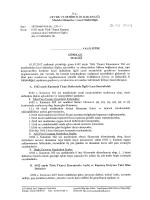 rc. - Çevre ve Şehircilik Bakanlığı
