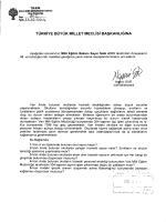 N W ?ß - Türkiye Büyük Millet Meclisi