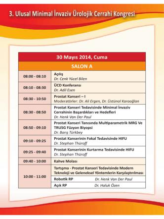 30 Mayıs 2014, Cuma 08:00