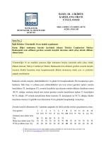 basel ııı - Bankacılık Düzenleme ve Denetleme Kurumu