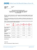 2014-8 6552 Sayılı Yasa Kapsamındaki Borçların