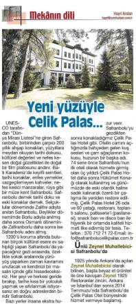 12-2014 Cumhuriyet Turizm