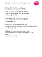 Download Liedertexte - Sing