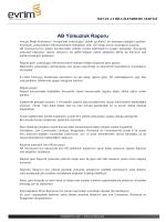 AB Yolsuzluk Raporu