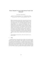 Yüksek Olgunluk Seviyeleri Faaliyetlerine Nerden - CEUR