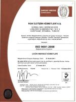 ISO 9001:2008 - RGN İletişim Hizmetleri A.Ş.