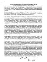 27.03.2014 Olağan Genel Kurul Toplantı Tutanağı