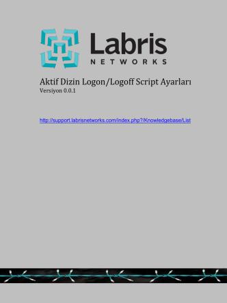Aktif Dizin Logon/Logoff Script Ayarları