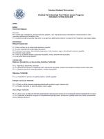 Histoloji Ve Embriyoloji Tezli Yüksek Lisans Programı