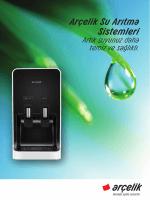 Arçelik Su Arıtma Sistemleri