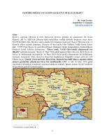 Yeni Bir Souk Sava in Ukrayna m Kullanld