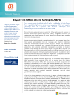 Beyaz Fırın Office 365 ile Kârlılığını Artırdı