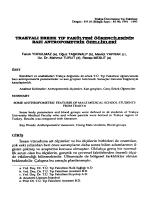 Full Text (PDF) - Balkan Medical Journal