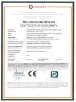 BENART Uluslararası Teknik Kontrol ve Belgelendirme Ltd. Şti