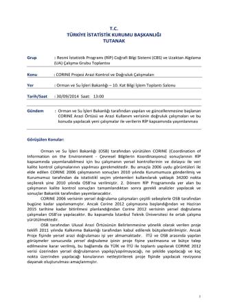 Coğrafi Bilgi Sistemi _CBS_ ve Uzaktan Algılama_30092014