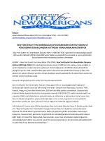new york eyaleti yeni amerikalılar ofisi göçmenlere ücretsiz yardım