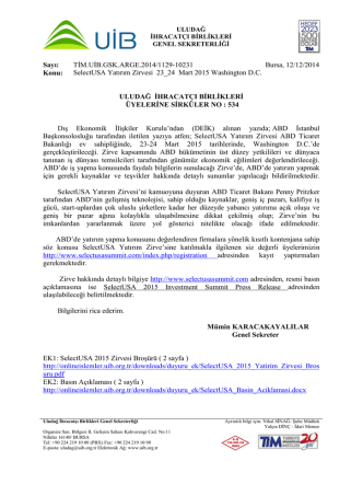 534 __ SelectUSA Yatırım Zirvesi 23_24 Mart 2015 Washington D.C.