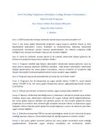 2014 Yılı Bilgi Toplumuna Dönüşüm ve Bilgi İletişim Teknolojileri