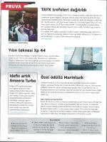 NAVIGA (Ocak 2014) Yılın Teknesi Xp 44 - X