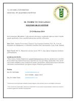 Deneysel Tıp Araştırma Enstitüsü III. Teorik ve Uygulamalı Western