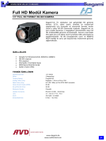 Full HD Modül Kamera