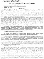 Yüksek Seçim Kurulunun 14/7/2014 Tarihli ve 3327