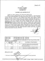 T.c. İSTANBUL ANADOLU 17. İCRA DAİRESİ 2014/3085 ESAS