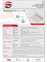 Fileli Köşe Profili Teknik Dökümanları