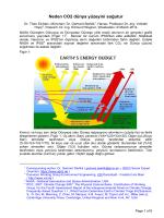 Neden CO2 dünya yüzeyini soğutur