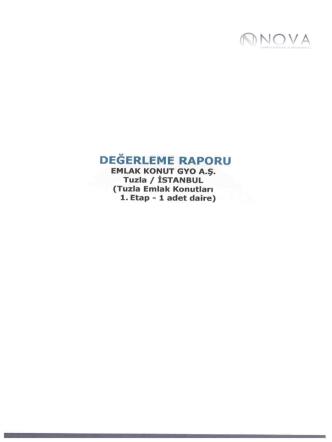 DEGERLEME RAPORU - Emlak Konut GYO
