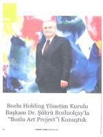 Page 1 Page 2 :isükrü Bey merhaba, Bozlu Holding çok güzel bir bi