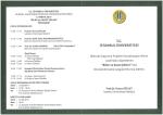 davetiye arka taraf - İstanbul Üniversitesi