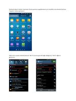 Andorid Kullanıcıları İçin Proxy Ayarları Rehberi