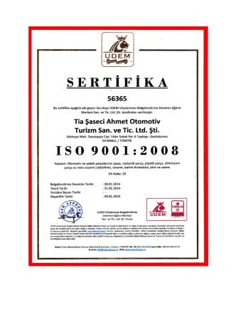 belgelerimiz - Tia Şaseci Ahmet Usta